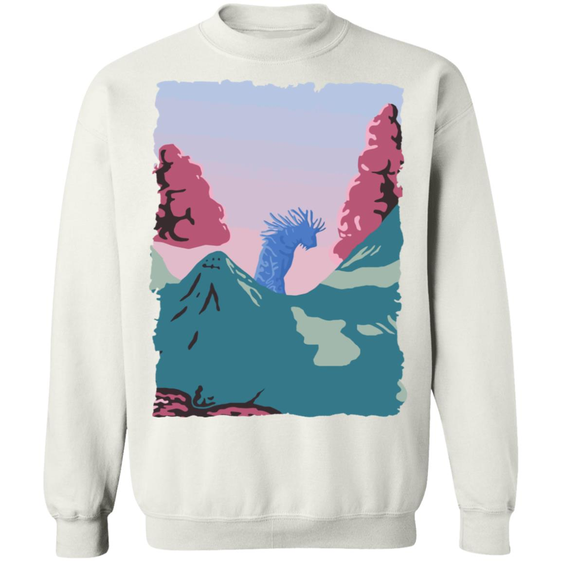 Princess Mononoke – Shishigami Night time Sweatshirt Unisex