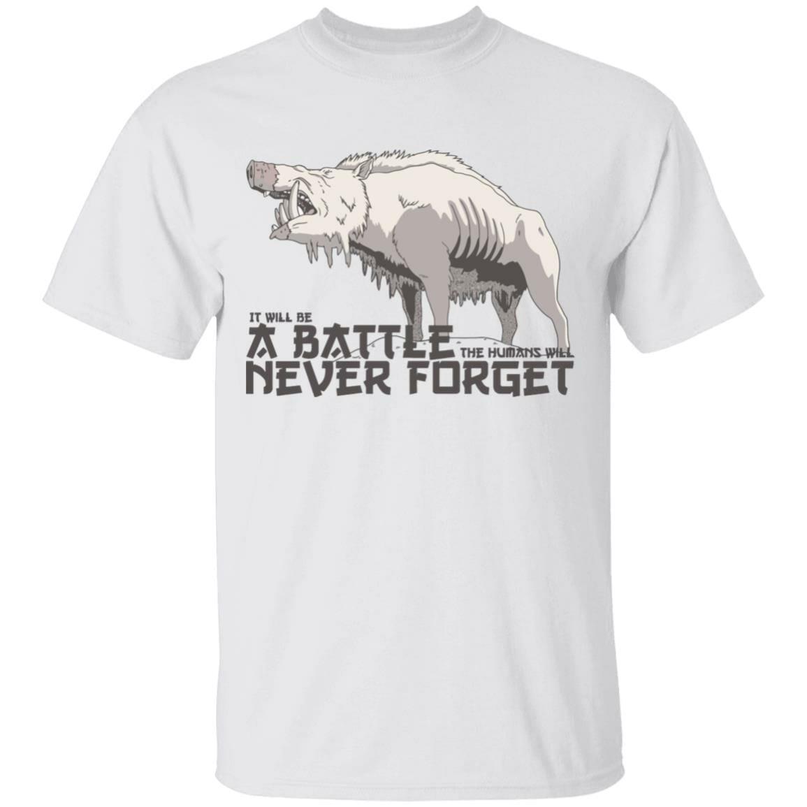 Princess Mononoke – A Battle Never Forget T Shirt