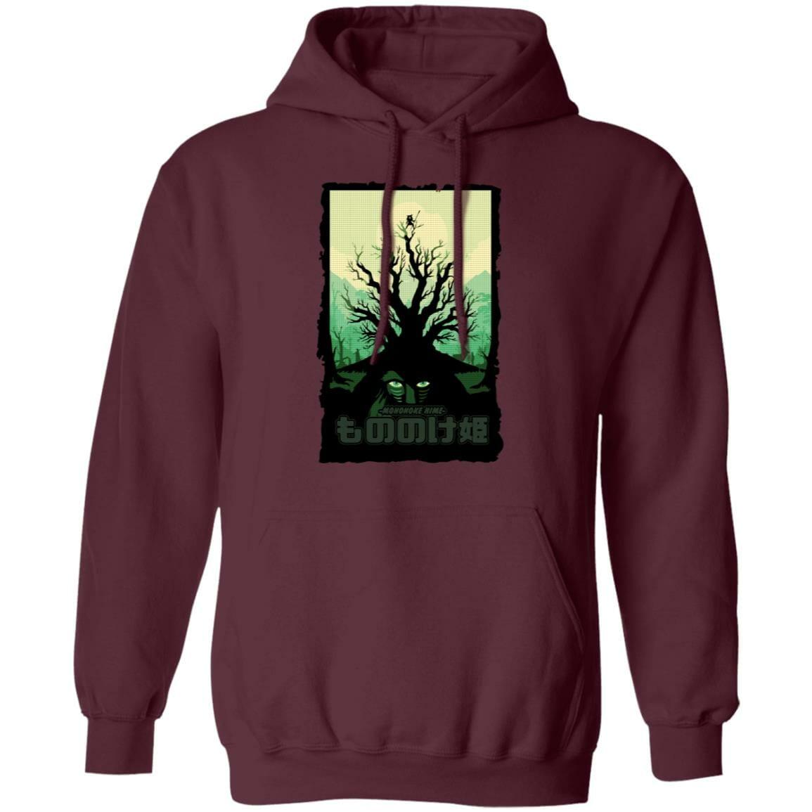 Princess Mononoke – Forest Spirit Hoodie