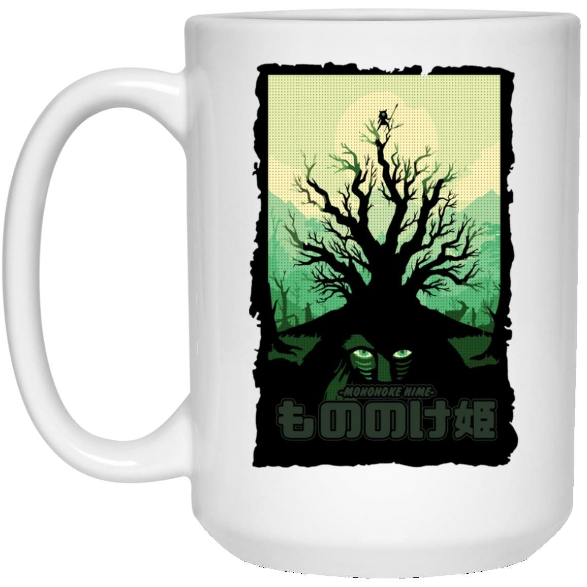 Princess Mononoke – Forest Spirit Mug
