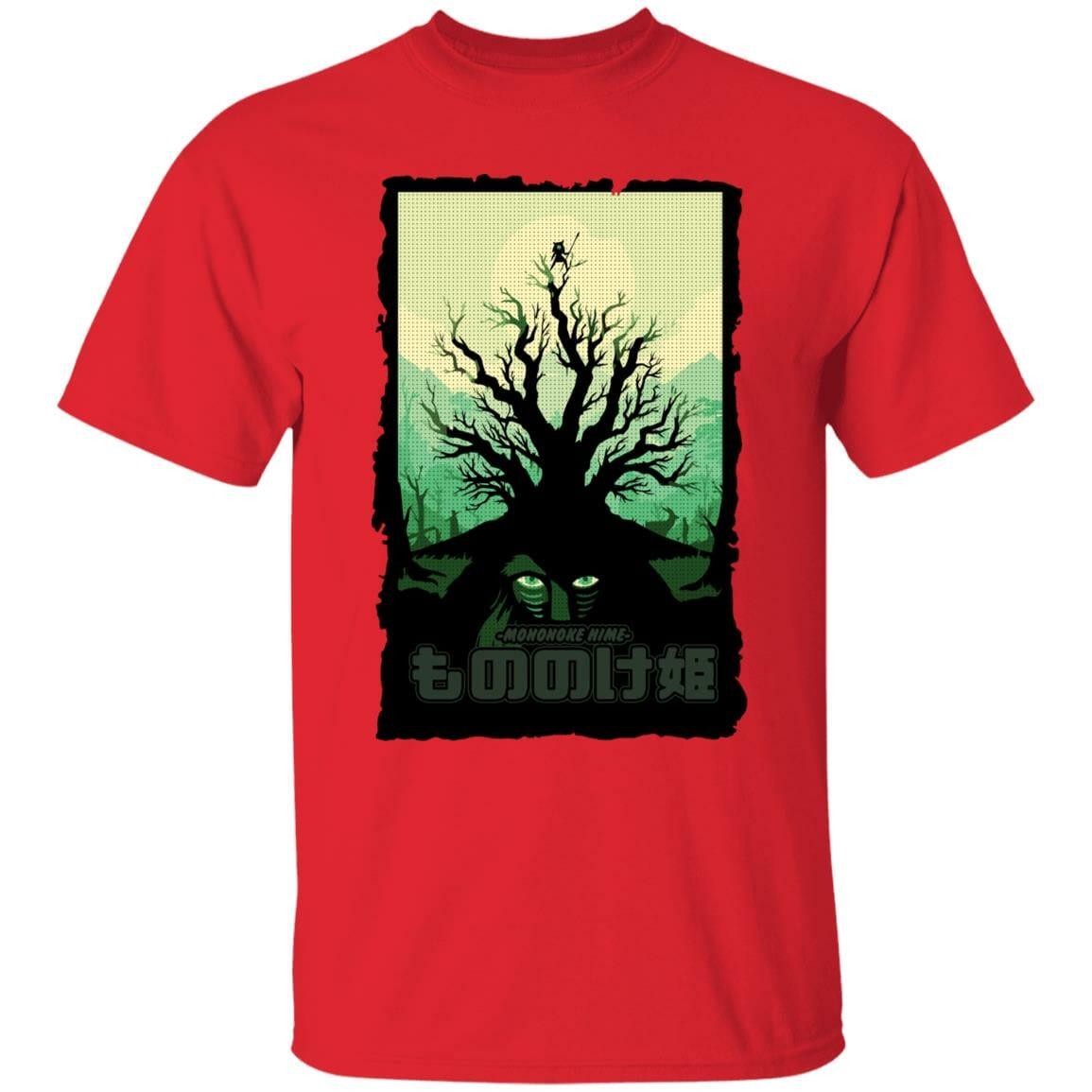 Princess Mononoke – Forest Spirit T Shirt