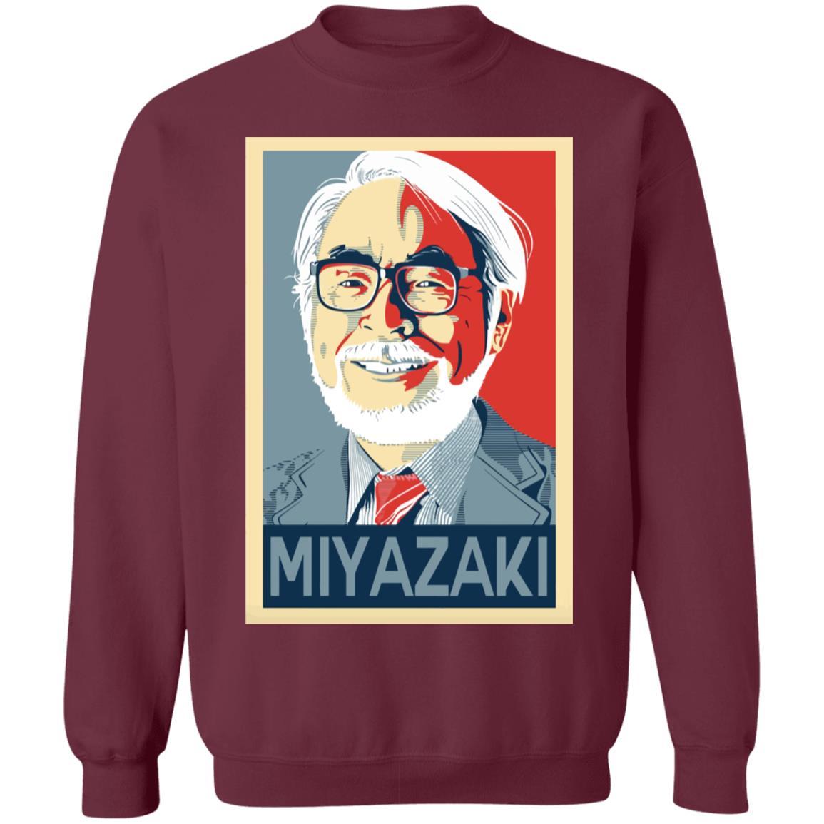 Hayao Miyazaki Studio Ghibli Sweatshirt