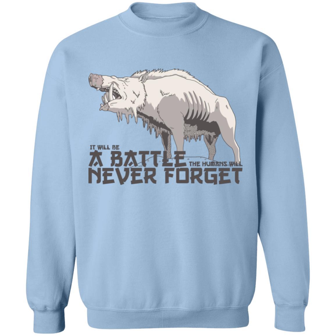 Princess Mononoke – A Battle Never Forget Sweatshirt