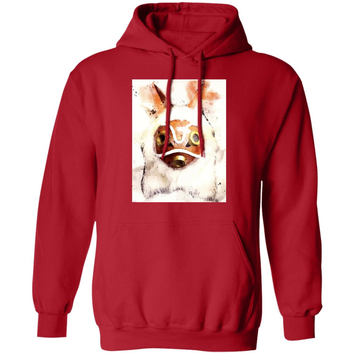 Princess Mononoke Mask Watercoloured Classic Hoodie