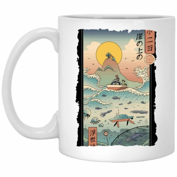 Ponyo By The Sea Classic Mug
