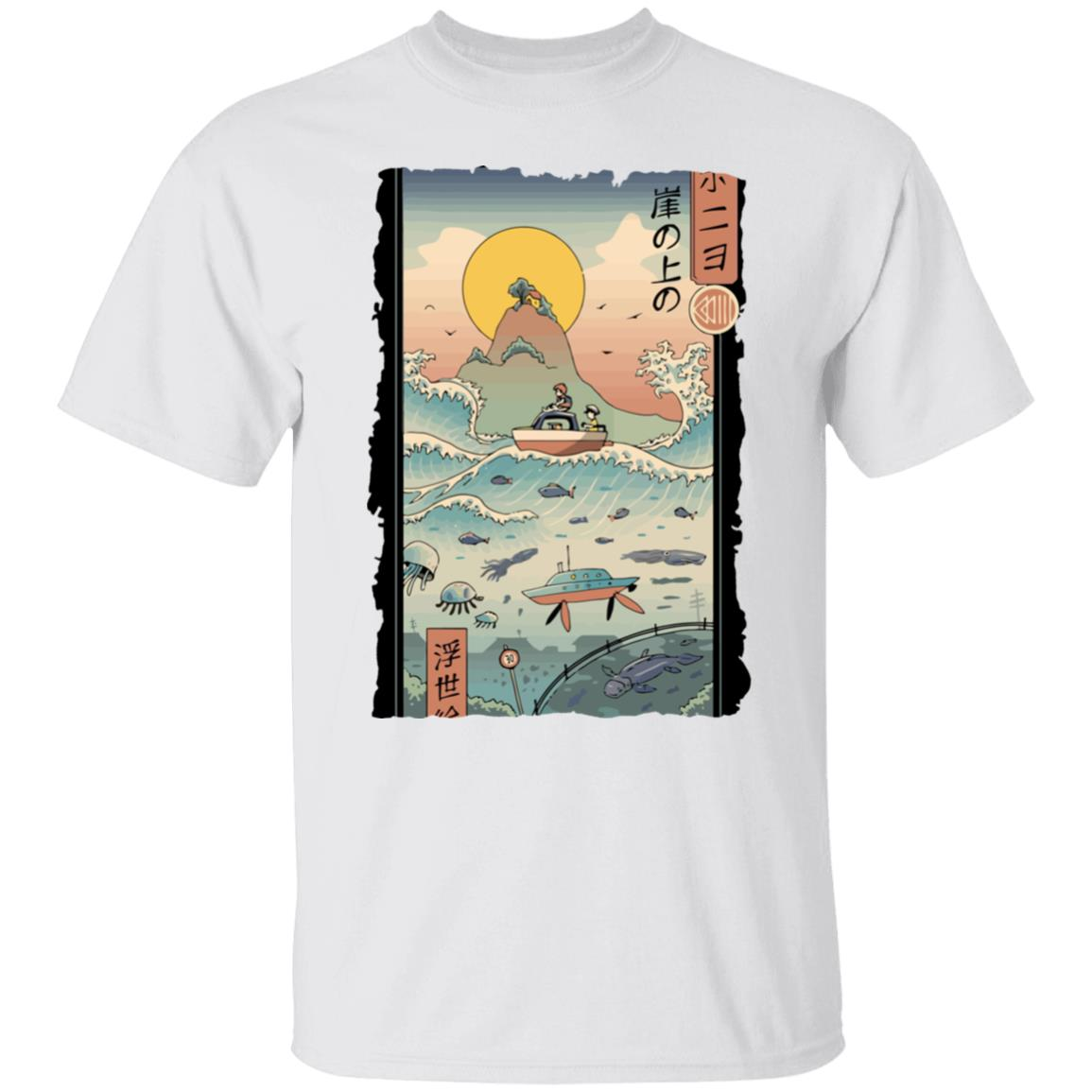 Ponyo By The Sea Classic T Shirt