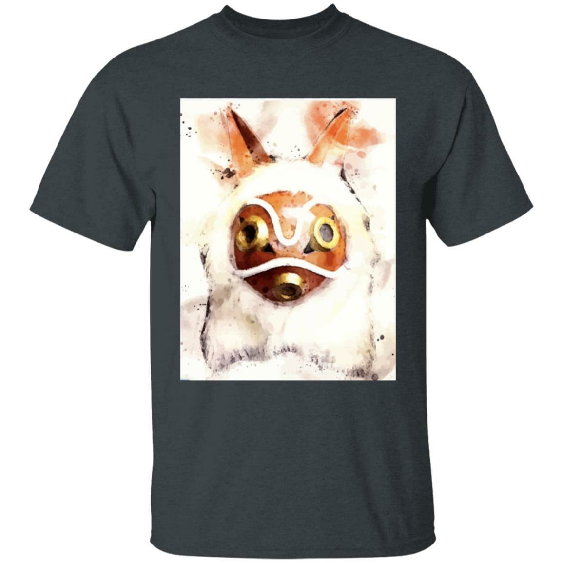 Princess Mononoke Mask Watercoloured Classic T Shirt