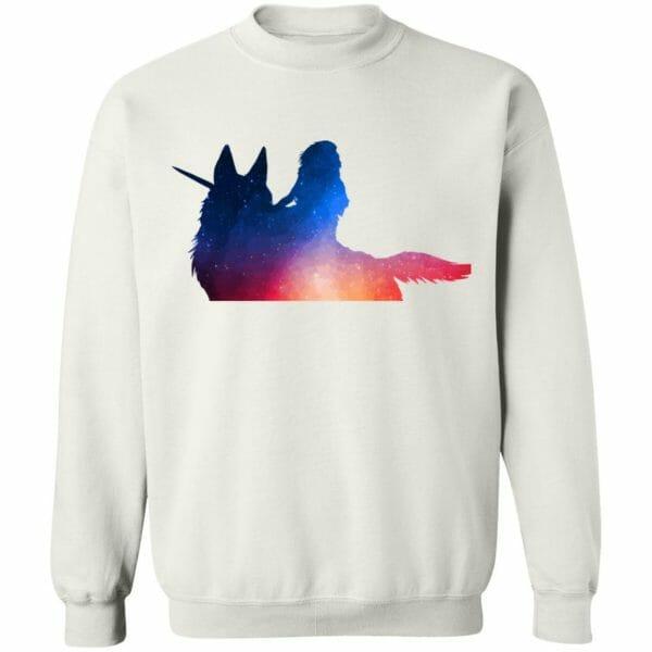 Princess Mononoke Rainbow Style T Shirt