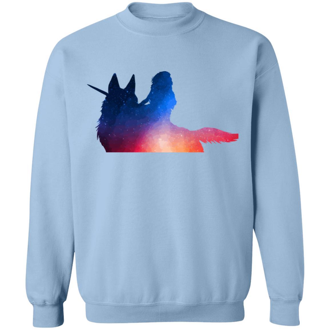 Princess Mononoke Rainbow Style Sweatshirt