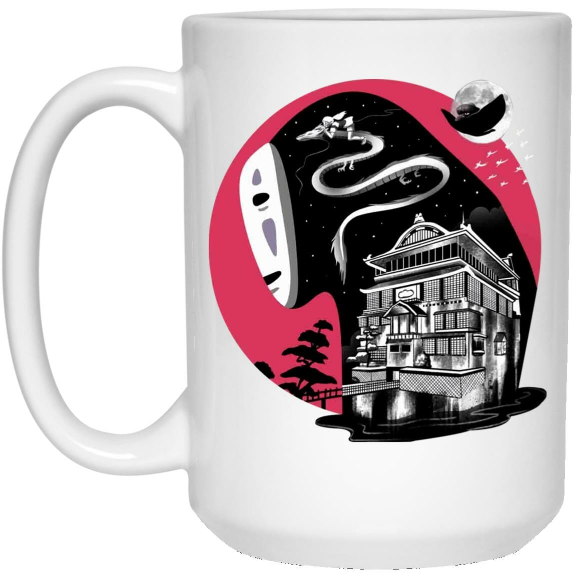 Spirit Away Kaonashi No Face Unisex Mug