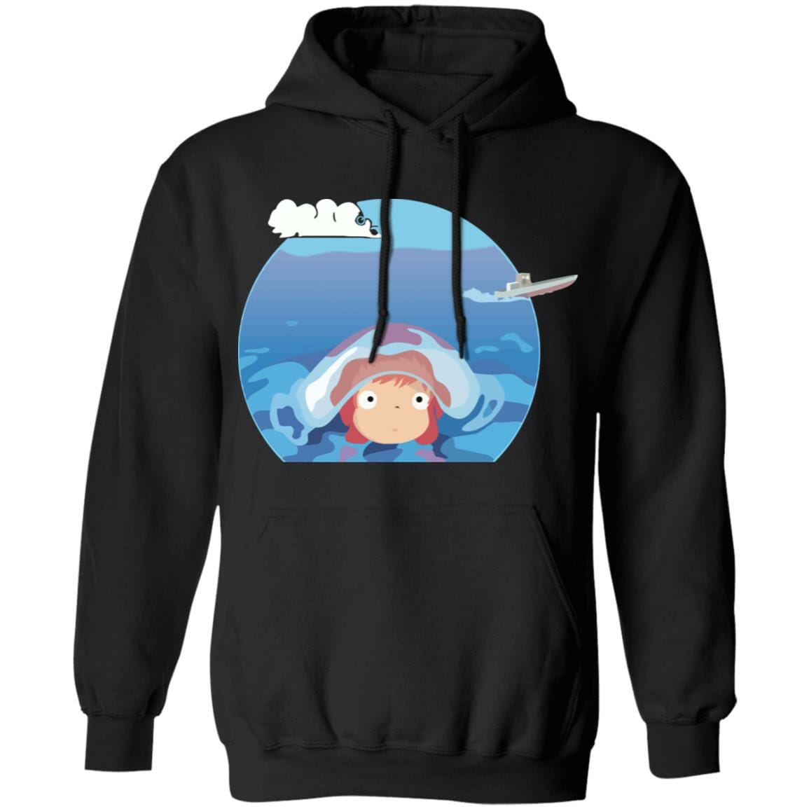 Ponyo in her first trip Hoodie