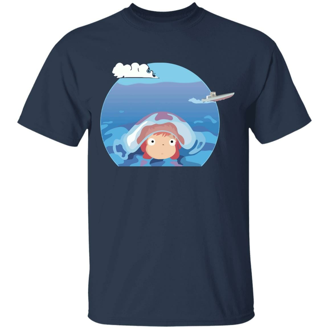 Ponyo in her first trip T Shirt
