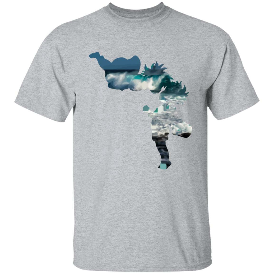 Ponyo and Sasuke Cutout Classic T Shirt
