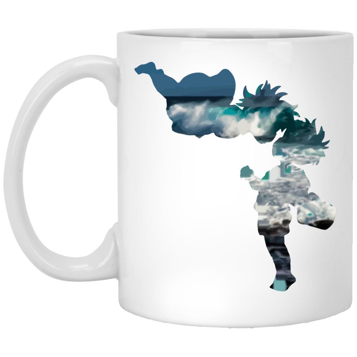 Ponyo and Sasuke Cutout Classic Mug