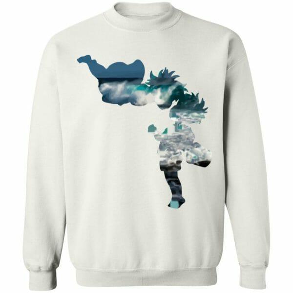 Ponyo and Sasuke Cutout Classic Sweatshirt