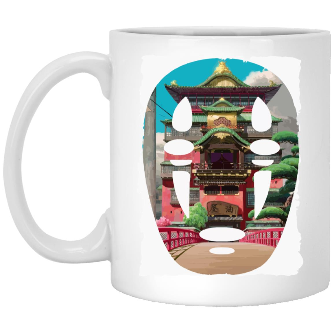 Spirited Away –  The Bathhouse Ft. No Face Mug