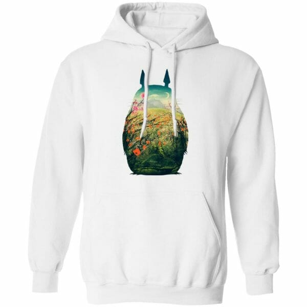 My Neighbor Totoro Colorful Cutout Hoodie