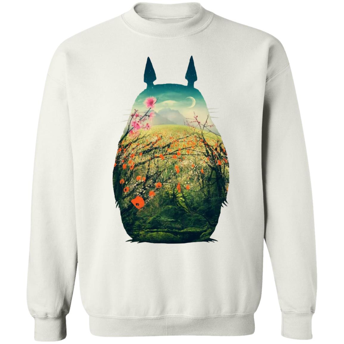 My Neighbor Totoro Colorful Cutout Sweatshirt