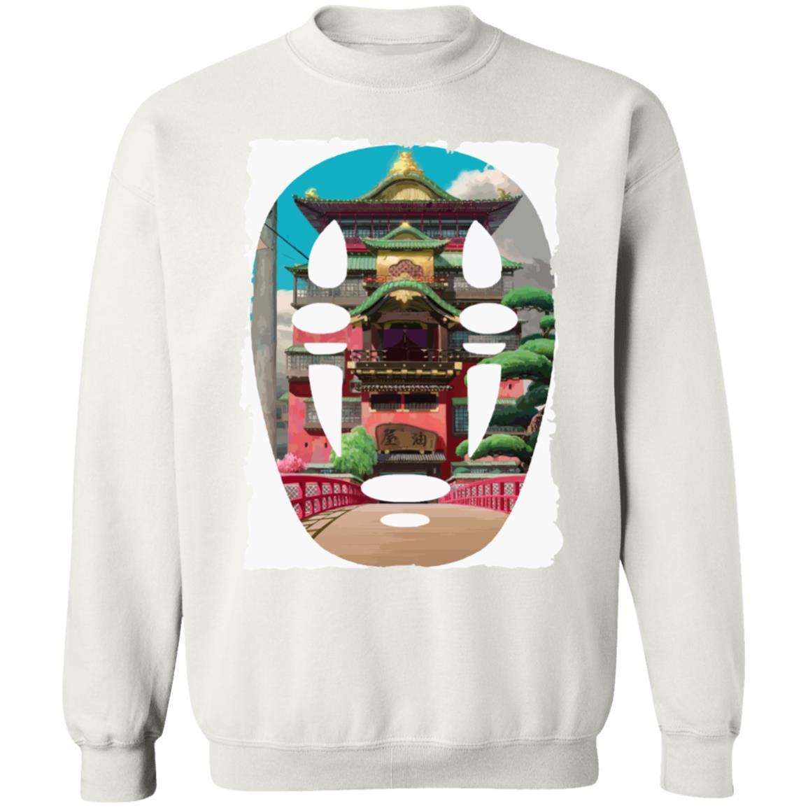 Spirited Away –  The Bathhouse Ft. No Face Sweatshirt