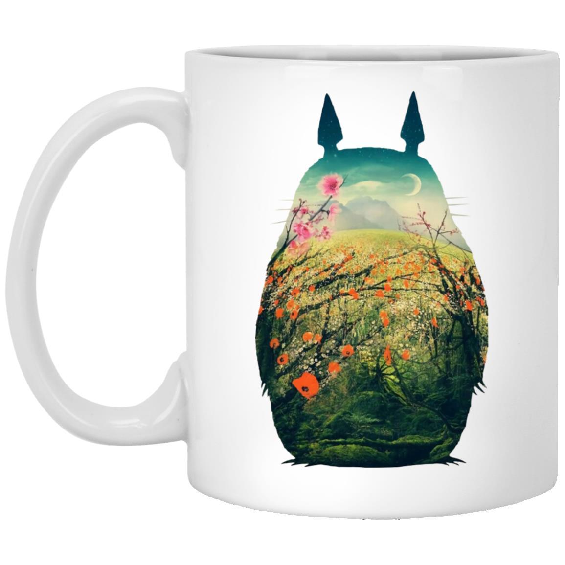 My Neighbor Totoro Colorful Cutout Mug