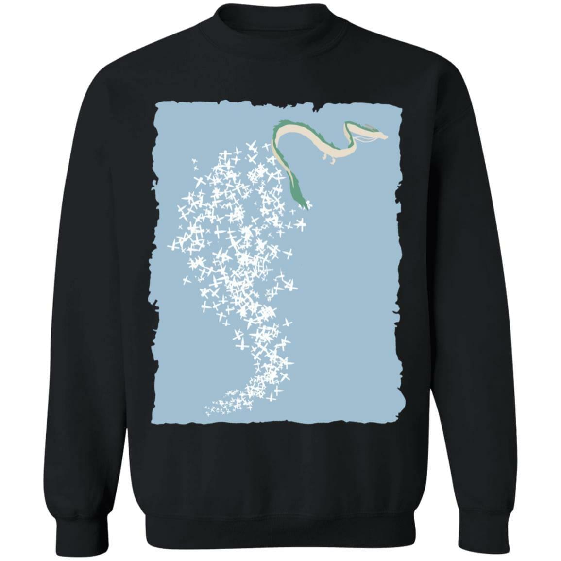 Spirited Away –  Flying Haku Dragon Sweatshirt