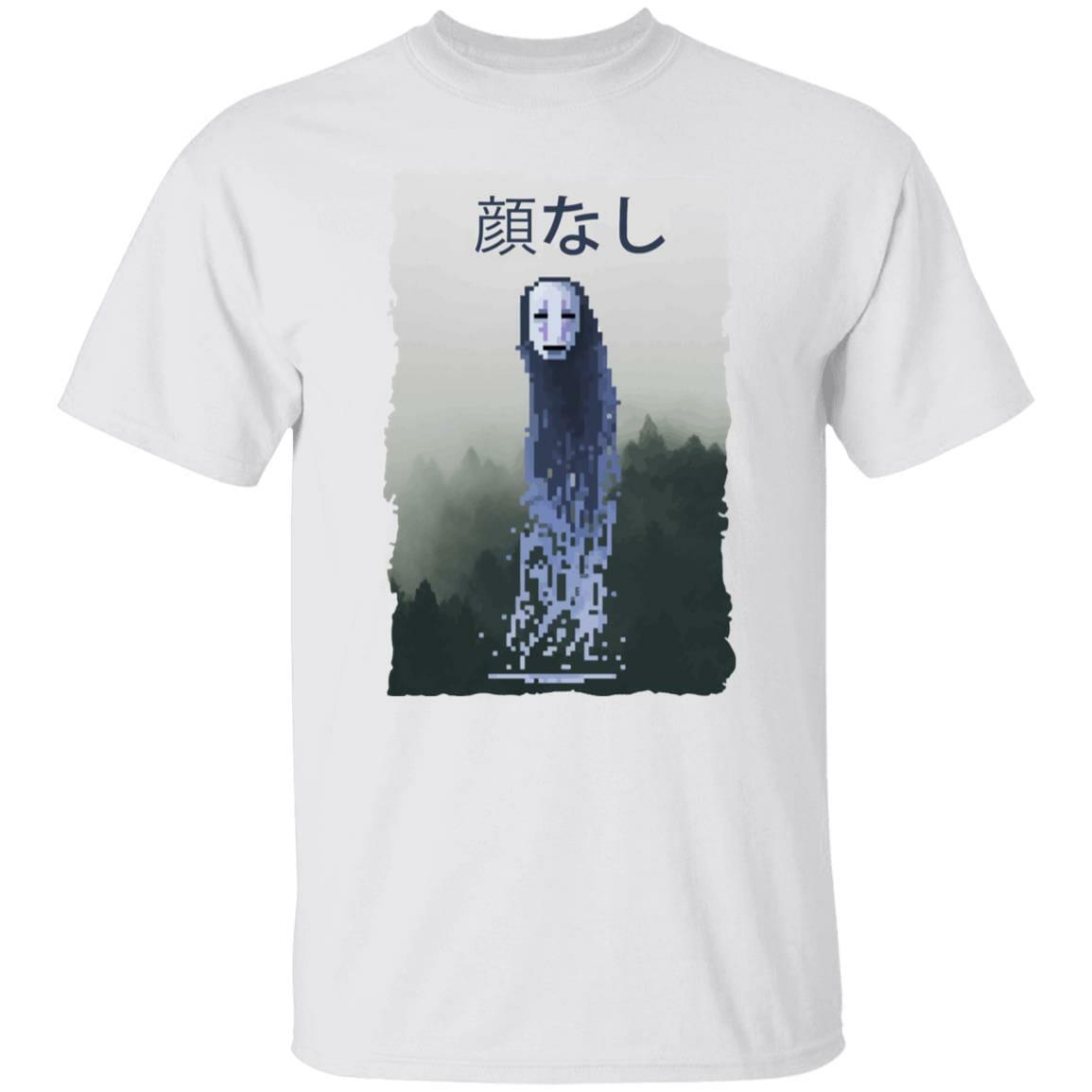 Spirited Away No Face Kaonashi 8bit T Shirt