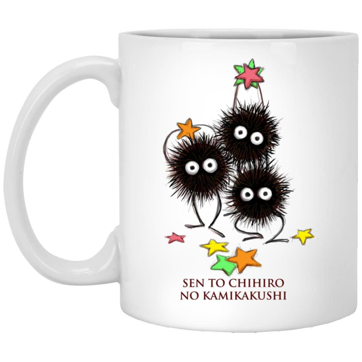 Spirited Away Susuwatari Graphic Mug