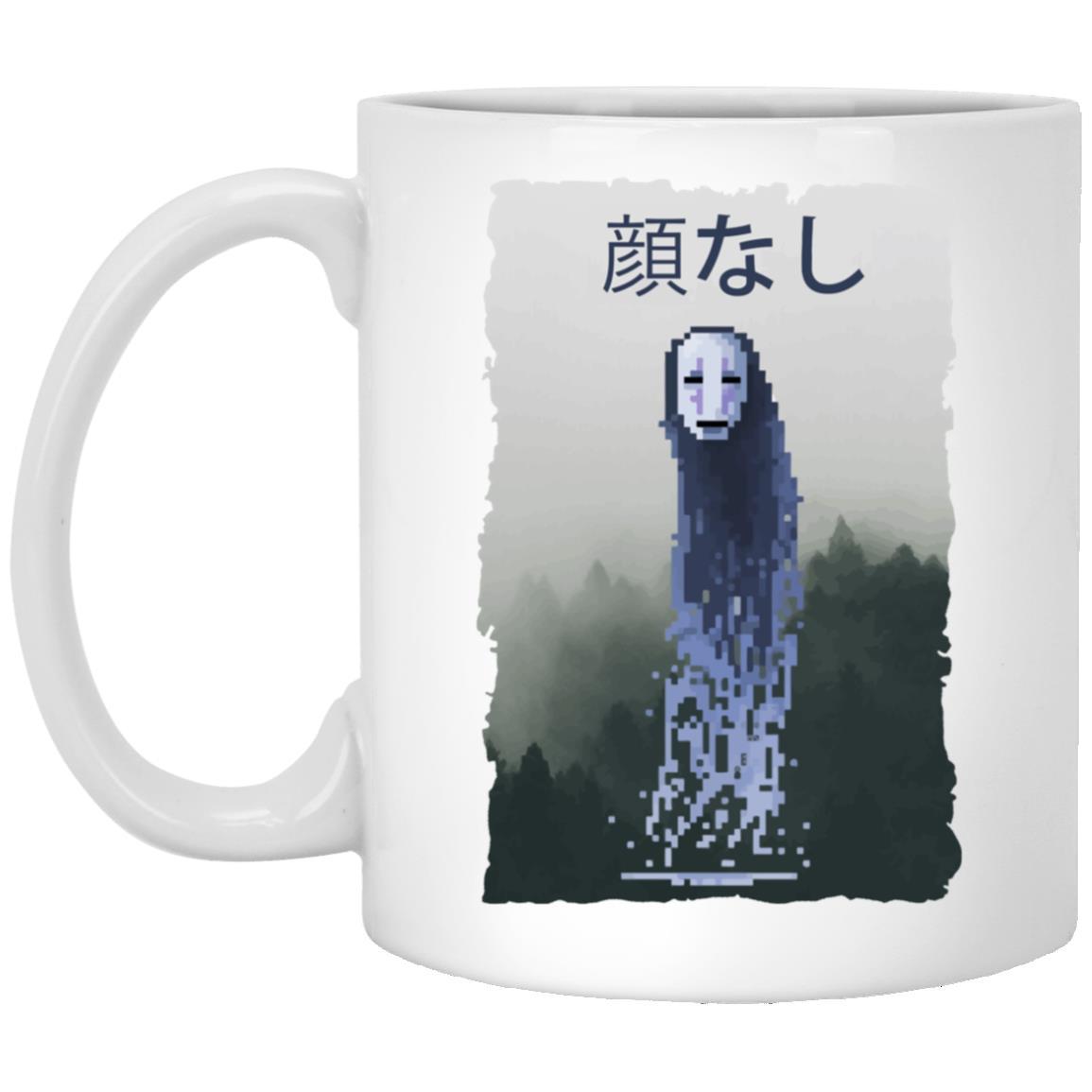 Spirited Away No Face Kaonashi 8bit Mug