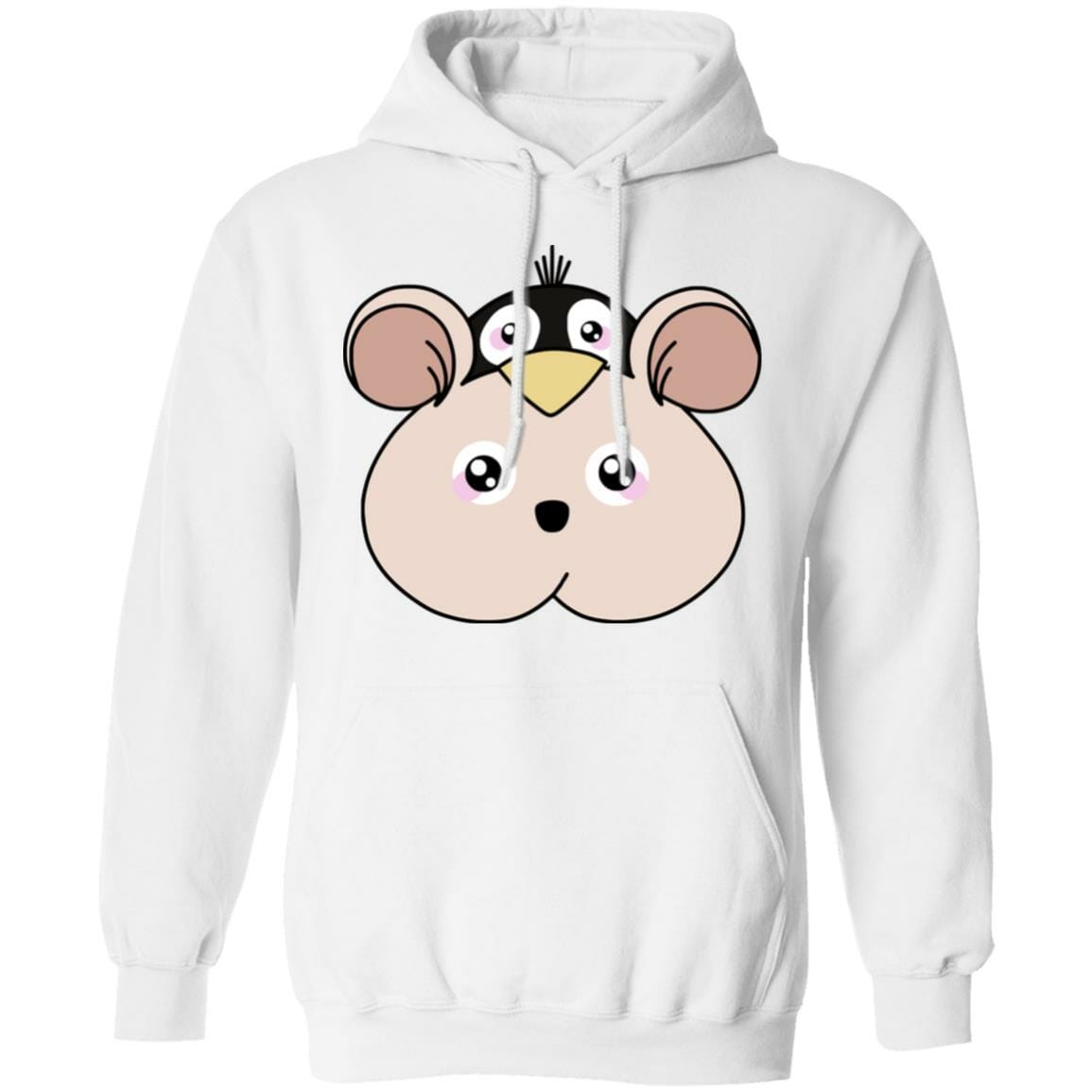 Spirited Away Boh with Yubaba's bird Classic Hoodie