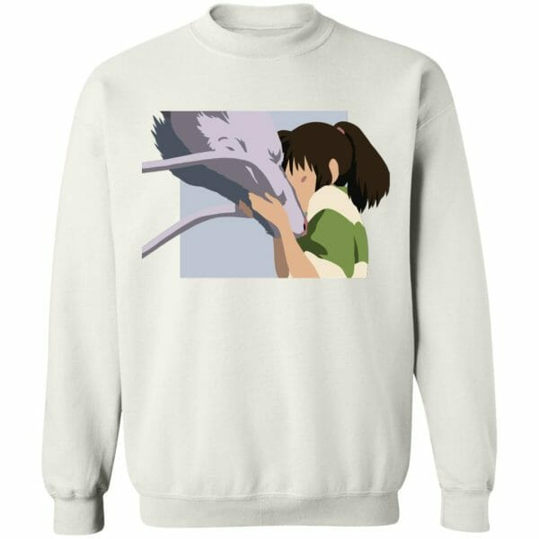 Spirited Away Haku and Chihiro Graphic Hoodie