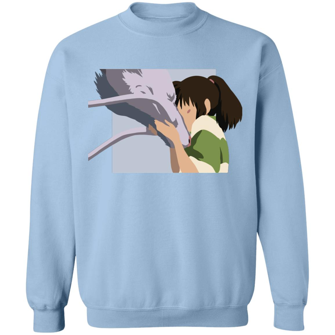 Spirited Away Haku and Chihiro Graphic Sweatshirt