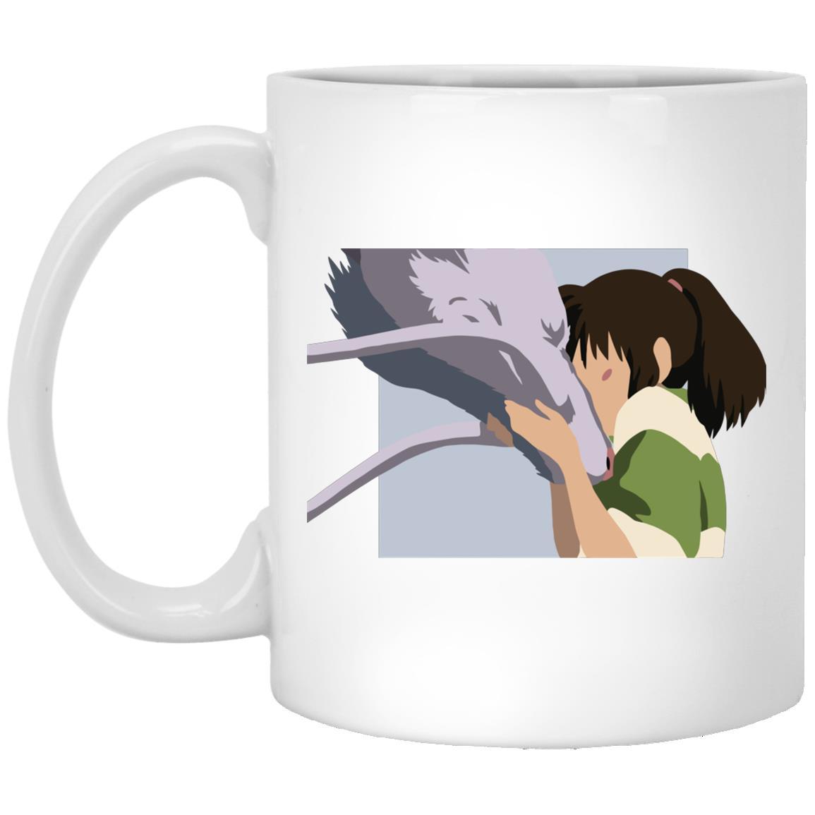 Spirited Away Haku and Chihiro Graphic Mug