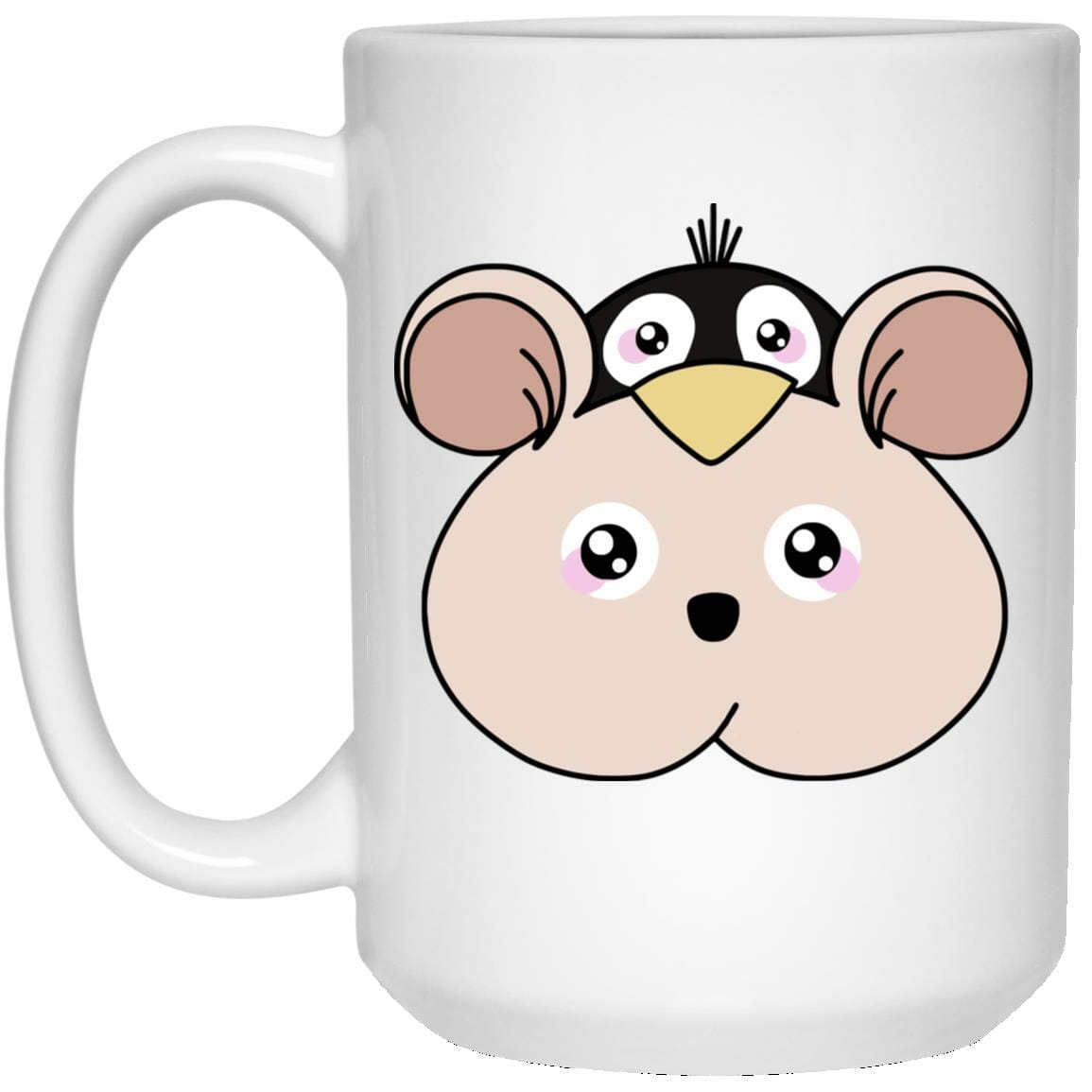Spirited Away Boh with Yubaba's bird Classic Mug