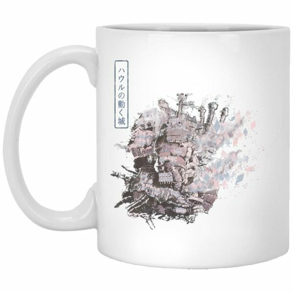 Howl's Moving Castle Painting Mug