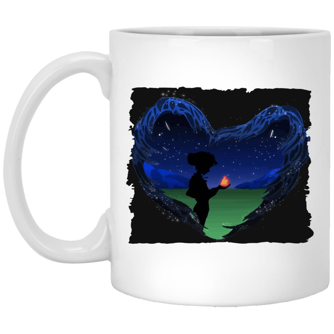 Howl's Moving Castle – Howl meets Calcifer Classic Mug
