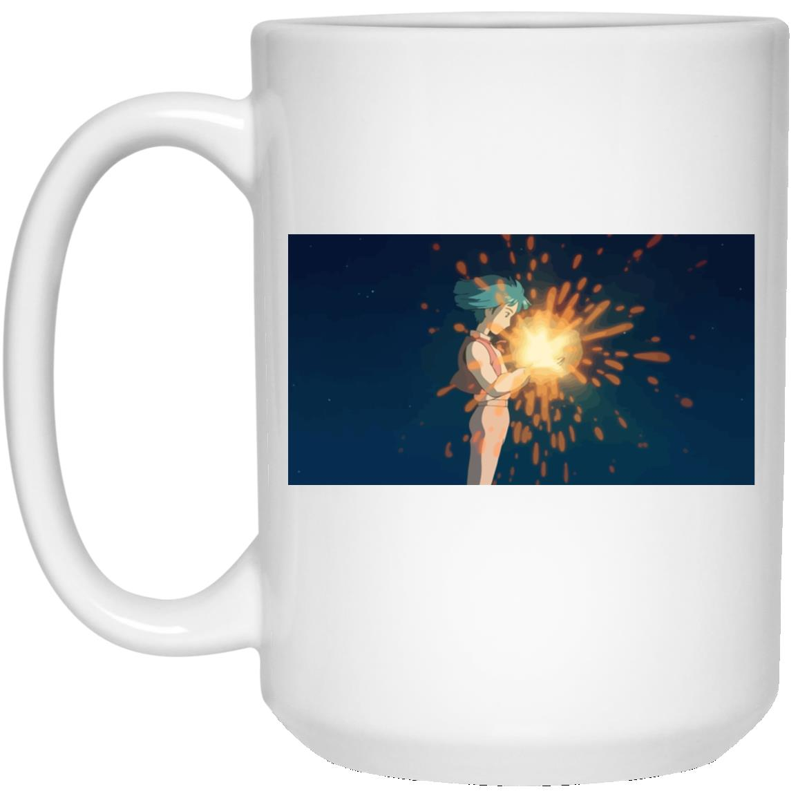 Howl's Moving Castle – Howl meets Calcifer Color Mug
