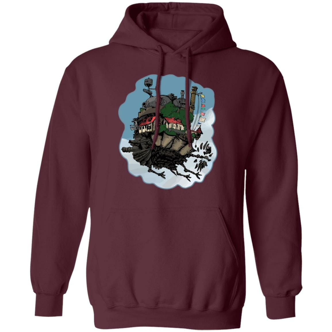 Howl's Moving Castle Classic Color Hoodie