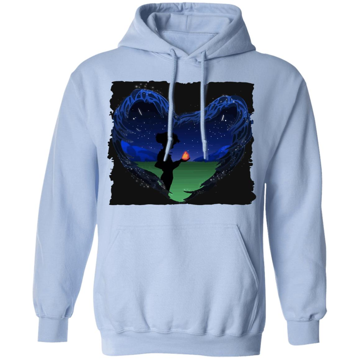 Howl's Moving Castle – Howl meets Calcifer Classic Hoodie