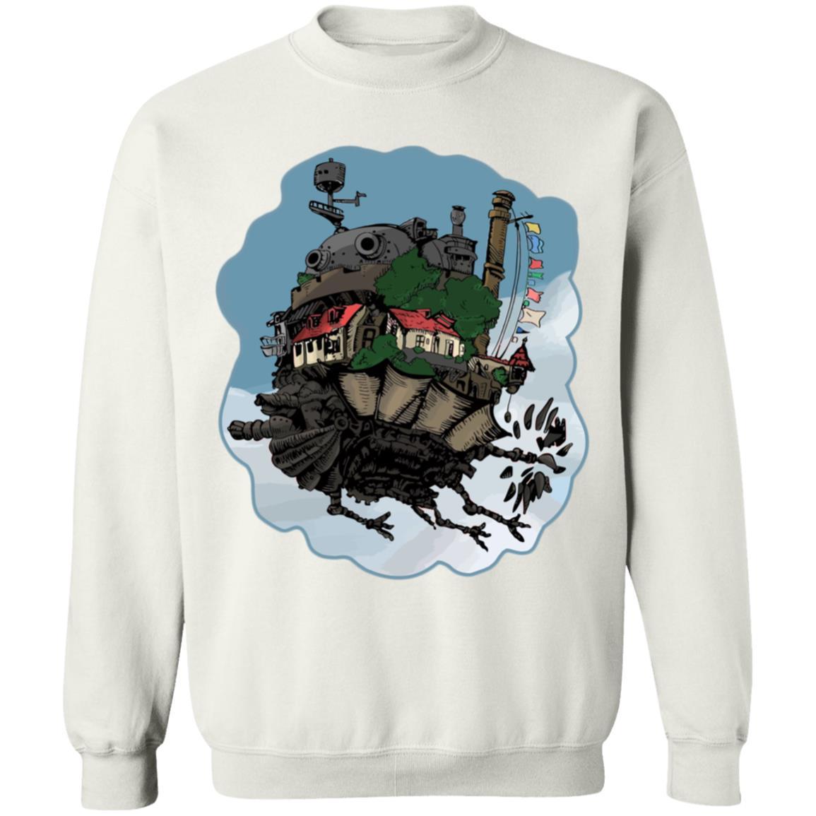 Howl's Moving Castle Classic Color Sweatshirt