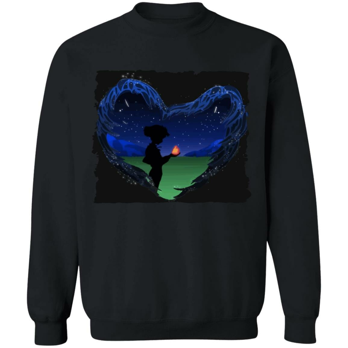 Howl's Moving Castle – Howl meets Calcifer Classic Sweatshirt