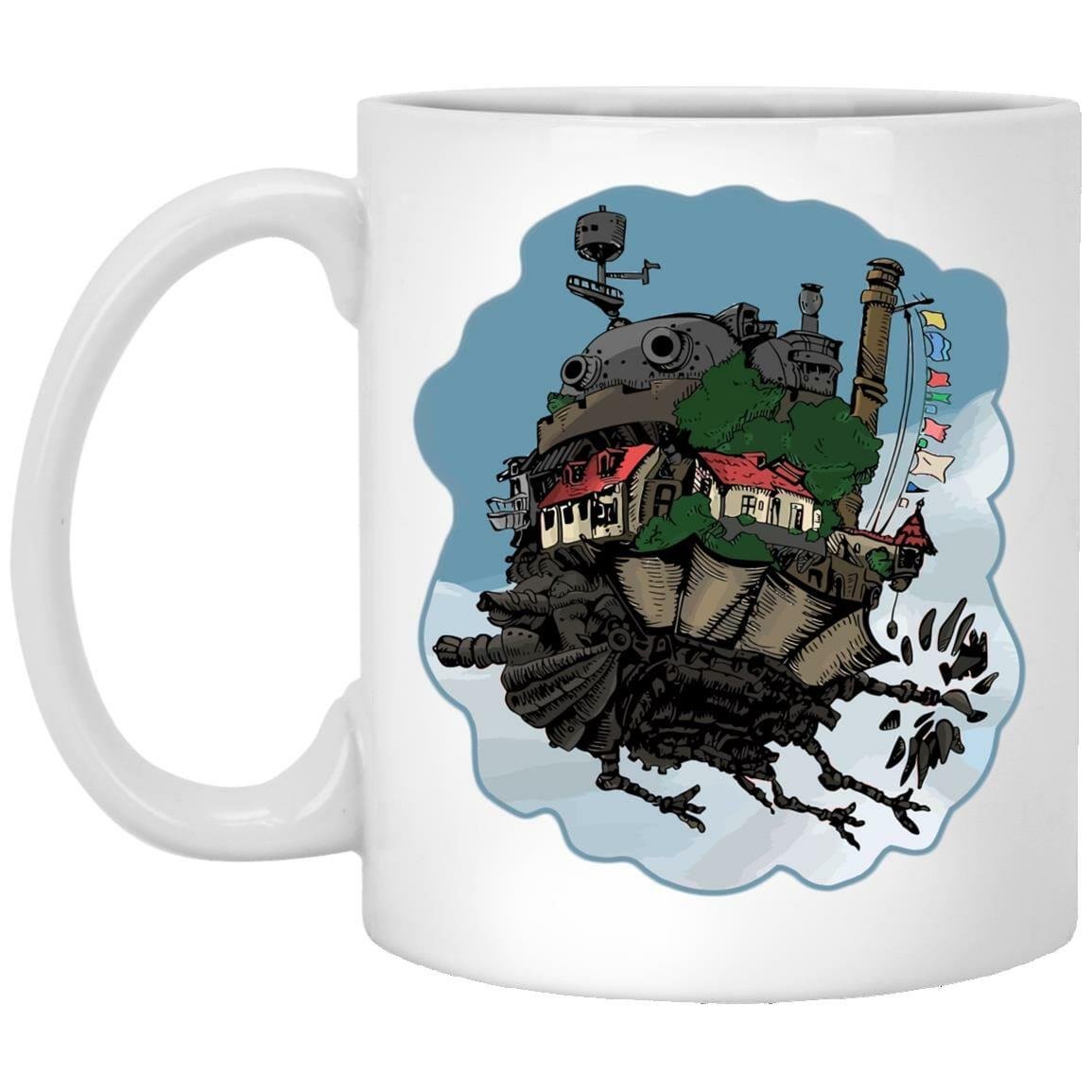 Howl's Moving Castle Classic Color Mug
