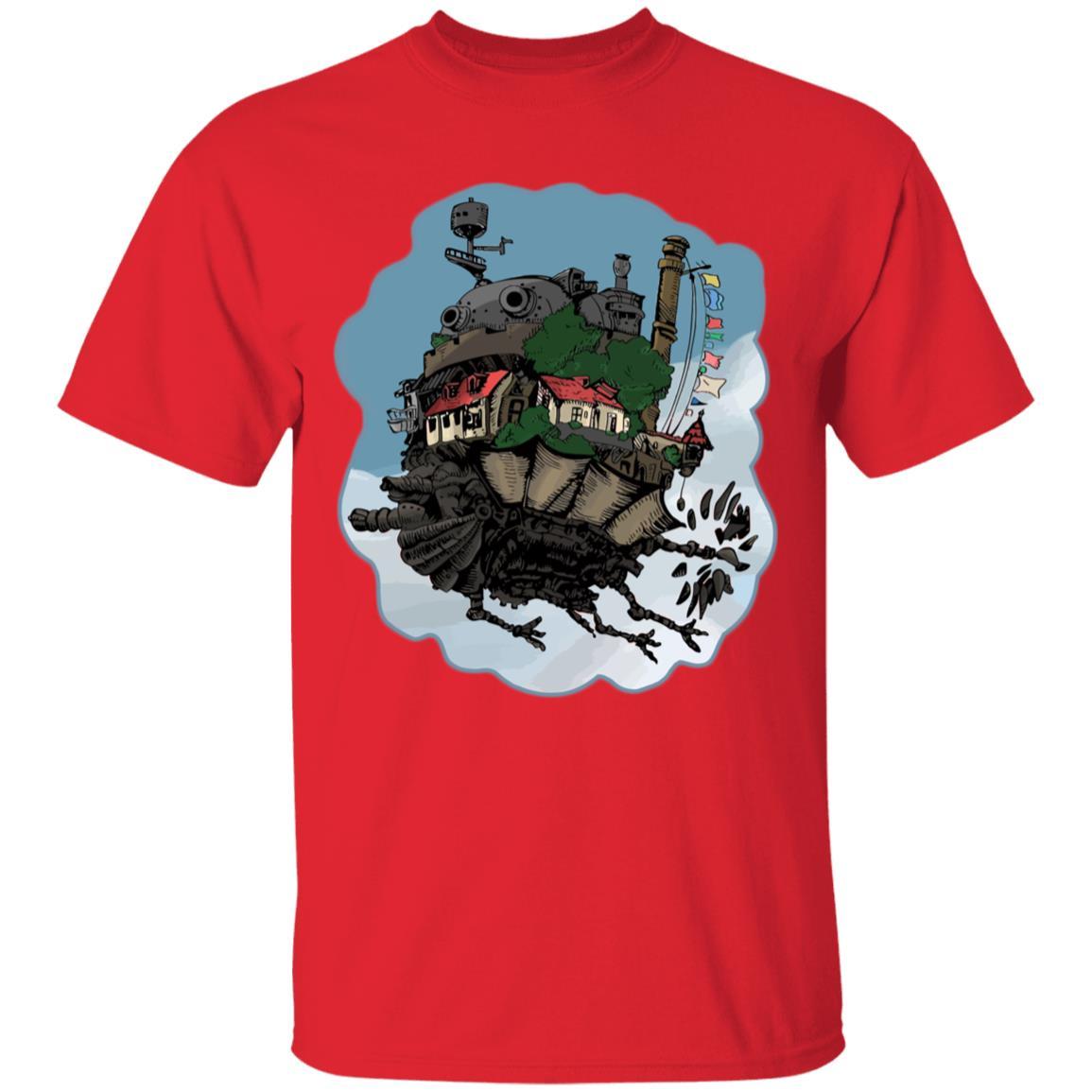 Howl's Moving Castle Classic Color T Shirt