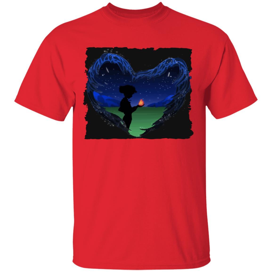 Howl's Moving Castle – Howl meets Calcifer Classic T Shirt