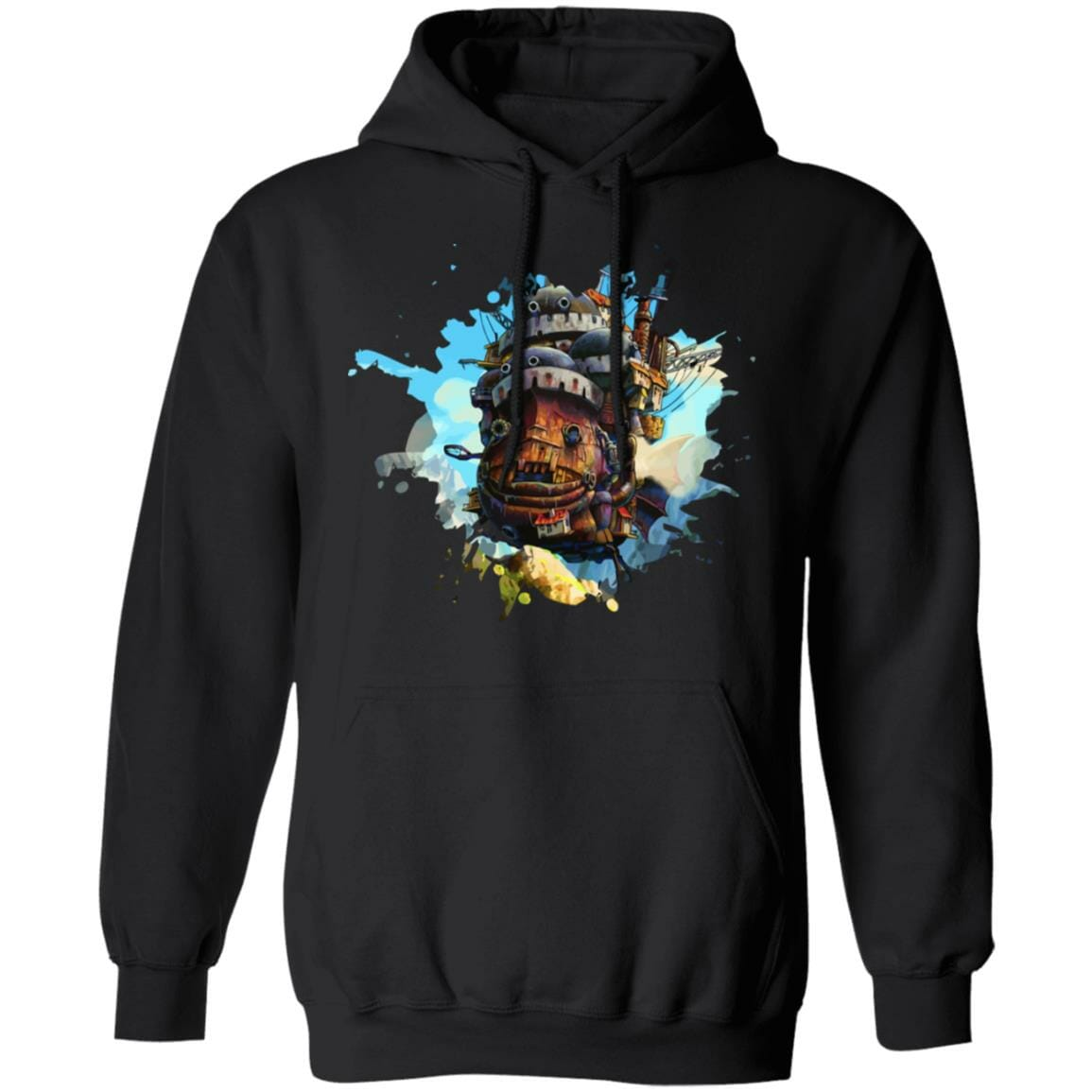 Howl's Moving Castle Painting Hoodie