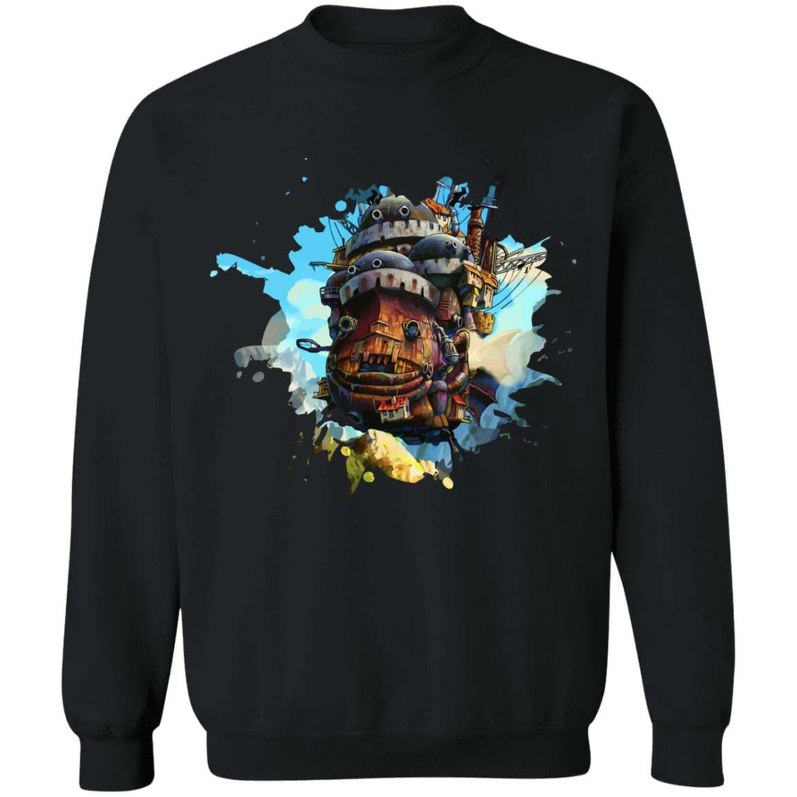 Howl's Moving Castle Painting Sweatshirt