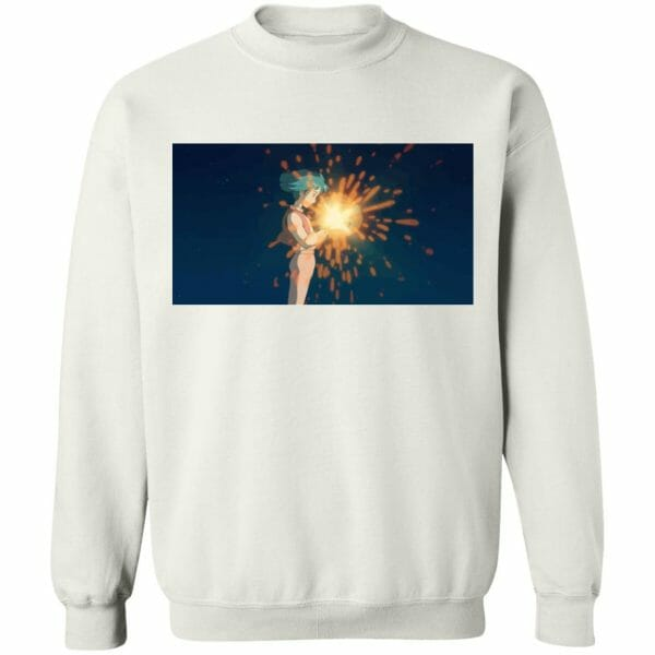 Howl's Moving Castle – Howl meets Calcifer Color T Shirt