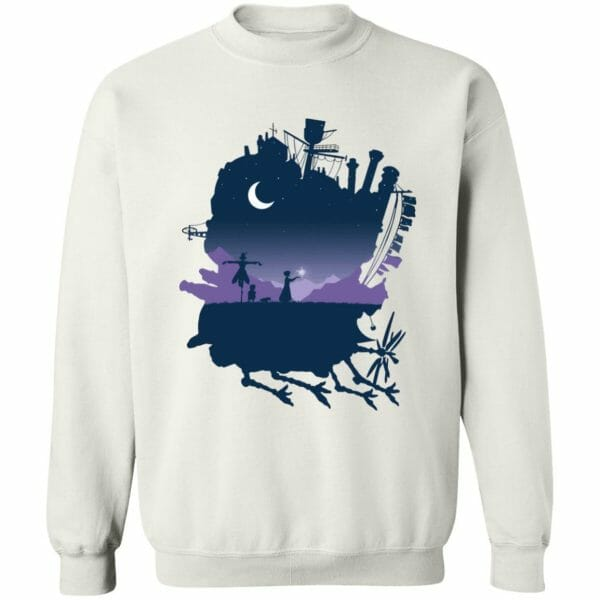 Howl's Moving Castle Midnight Hoodie
