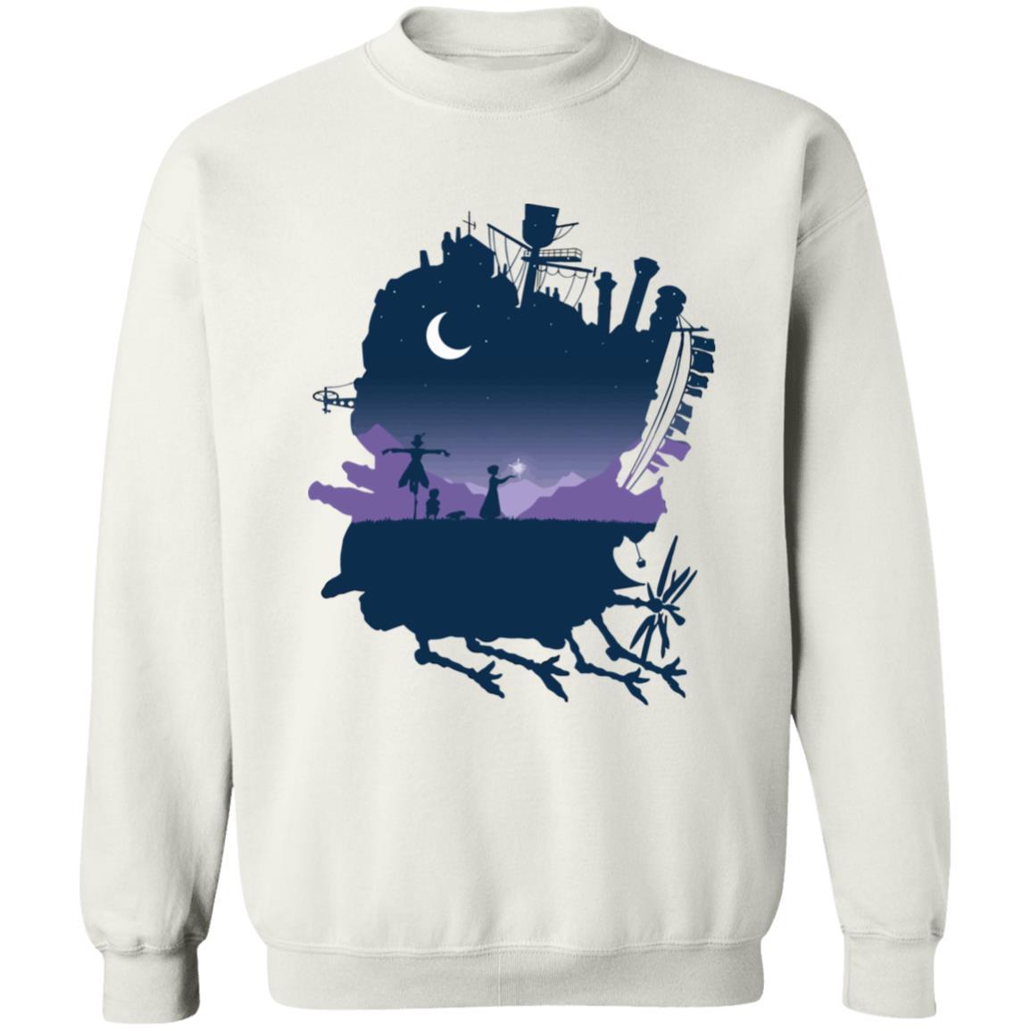 Howl's Moving Castle Midnight Sweatshirt