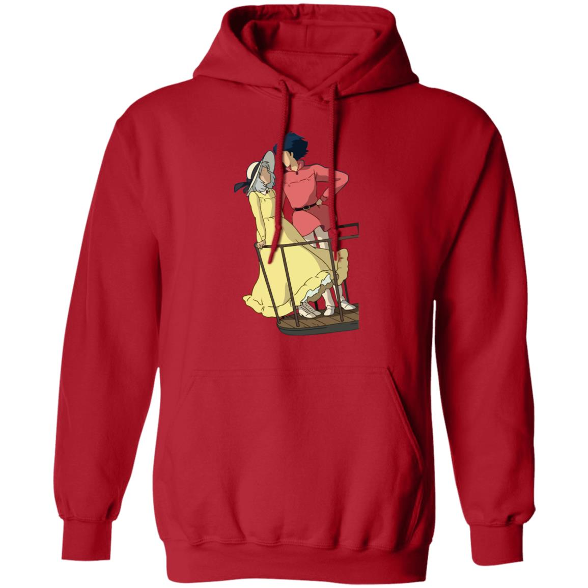 Howl's Moving Castle – Sophie and Howl Gazing at Each other Hoodie