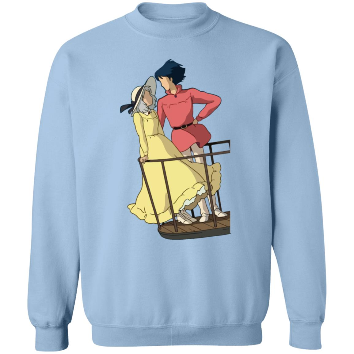 Howl's Moving Castle – Sophie and Howl Gazing at Each other Sweatshirt